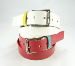 Simple and Fashion Lady Leather Belt pictures & photos