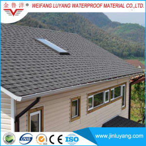 Low Price High Quality Black Asphalt Roofing Shingle for Africa Market pictures & photos