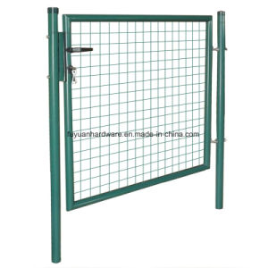 Europen Marketing Type Powder Coating Garden Gate pictures & photos
