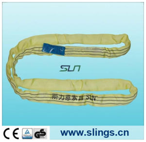 2017 Endless Yellow 3t*10m Round Sling with Ce/GS pictures & photos
