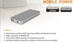 5000mAh Mobile Phone Portable Charger pictures & photos