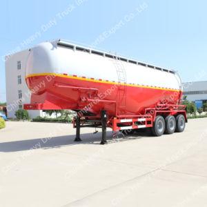 3 Axles 45m3 Bulk Cement Silo Tanker Semi Truck Trailer pictures & photos