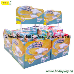 Baby Products Counter Cardboard Display Stand (B&C-C016) pictures & photos