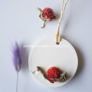 Round Ceramic Hanging Car Air Refresher for Promotion Gift (AM-107) pictures & photos