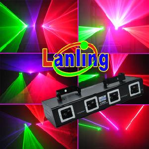 Hot Four Heads DJ Disco Laser Light (L2608) pictures & photos