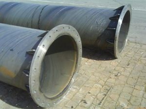 Welded Flange Spiral Steel Pipe pictures & photos