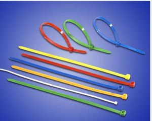 Color Nylon Cable Tie UL, CE, RoHS pictures & photos