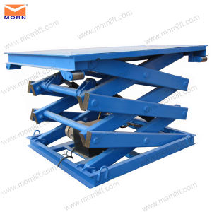 Fixed Scissor Lift Table for Cargo Elevate pictures & photos