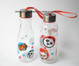 Easy to Carry Glass Water Bottle pictures & photos