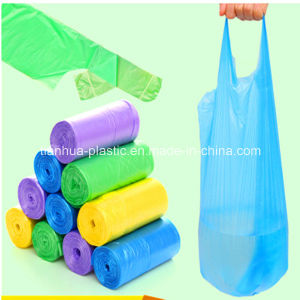 HDPE T-Shirt Bag on Roll/ Block Th 1509