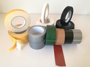 Double Sided Cloth Duct Tape/Double Side Tape pictures & photos