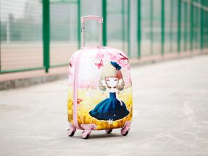 ABS+PC Children Case Trolley Luggage Toy pictures & photos