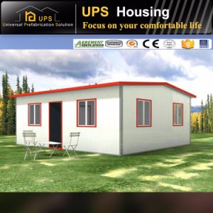 Easy Assembling Sandwich Material Double Floor Villa Economic Prefab House with Ce pictures & photos
