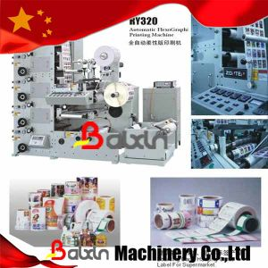 Flexographic Printing Machine/Flexographic Printing Machines for Labels pictures & photos