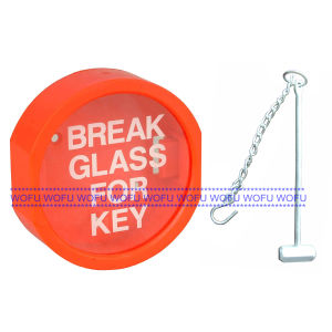 Transparent Break Glass for Key Box pictures & photos