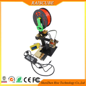 Rise Transformer New Design Desktop DIY Mini Portable 3D Printer pictures & photos