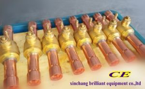 Gbc Refrigeration Brass Ball Valve with Welded pictures & photos