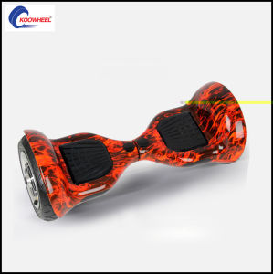 New Arrival Koowheel Fire Flame Red Motorized Scooter Monorover R2 Fashional Airboard Scooter Kick Scooter Smart Hover Boards pictures & photos