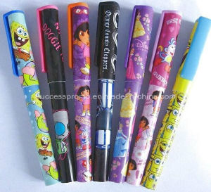 Wholesale Cheap Plastic Pen with Full Colors Logo Printing All Over pictures & photos