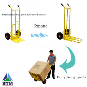 250kgs Capacity Floding Multiple Using Hand Truck/Hand Trolley