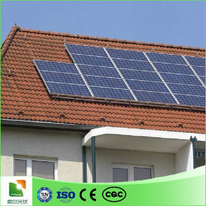 Solar Mounting Pitched Roof Solar Panel Aluminum Frame Rack Roof Rails