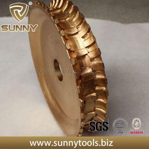 Bull Nose Brazed Diamond Marble Diamond Profile Wheel Tool pictures & photos