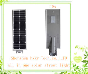 All in One Solar Street Garden Light 18W LED Integrated Solar Light pictures & photos