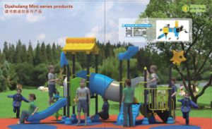 2014 Hot Selling Outdoor Children Amusment Playground Slide with TUV Certificate QQ-Mn001 pictures & photos