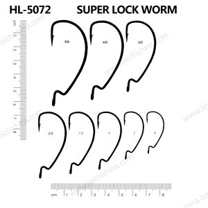 Wholesale Top Quality Super Worm Fishing Hook pictures & photos