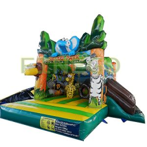 Mini Safari Park Kids Inflatable Bouncer Houses Jumpers for Sale pictures & photos