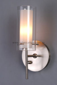 Modern Glass Wall Lamp Stain Nickel Wall Lamp pictures & photos