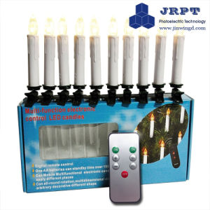 Flashing Religious Pillars Candles with Infrared Remote Control