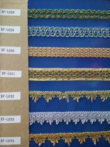 Popular Lace Trim for Curtain pictures & photos