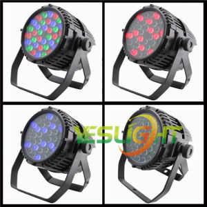 Competitive Price LED PAR Can Lighting Factory 36PCS*3W RGB CREE LEDs Outdoor Using pictures & photos