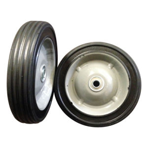 """7 Inch 7""""X1.5"""" Semi Pneumatic Rubber Wheel pictures & photos"""