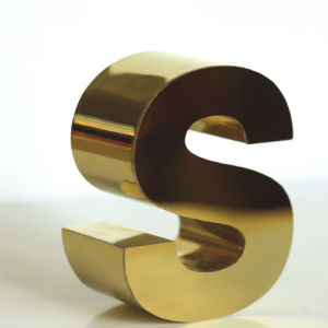 Polished Stainless Steel 3D Letters LED Display as Outdoor Signage pictures & photos