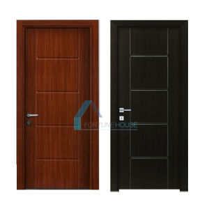 New Design Moulded Melamine Door with Teak and Wenge Colour pictures & photos