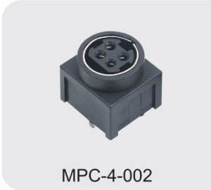 Mini DIN Power Connector (MPC-4-002) pictures & photos