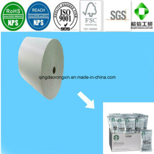 Single Sides PE Coated Paper for Starbucks Sugar Sachet Bag pictures & photos