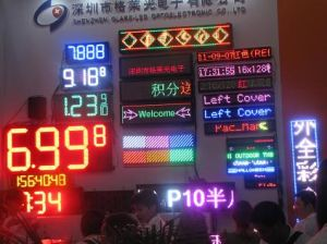 24 Inch Waterproof LED Gas Price Digital Display for Gas Station
