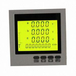 Digital AC Voltmeter with LCD Display pictures & photos