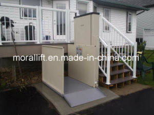 Small Home Hydralic Stairs Wheelchair Lift Elevator pictures & photos