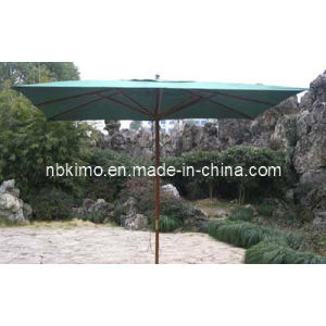 300X300cm Garden Wooden Patio Umbrella / Outdoor Furniture Garden Umbrella (22306)