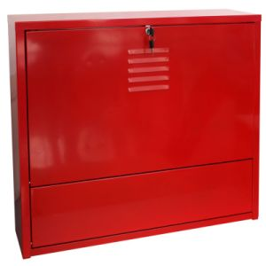 Metal Furniture - Red Wall Cabinet/ Metal Wall Storage Cabinet/ Metal Cabinet pictures & photos