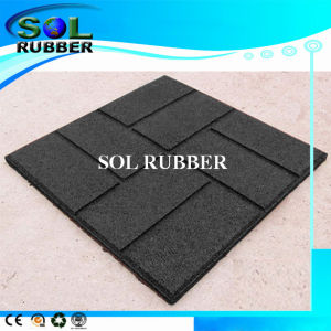 "High Flexibility Residential Outdoor Rubber Tile 16""X16"", 18""X18"", 24""X24"" pictures & photos"