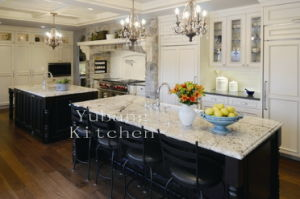 Solid Wood Kitchen Cabinet #204 pictures & photos