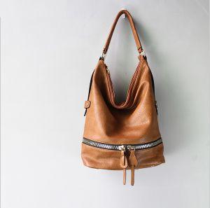 High Quality Zipper Hobo Bag Fashion Women Tote Bag pictures & photos