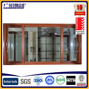 Aluminium Thermal Break Soundproof Windows pictures & photos