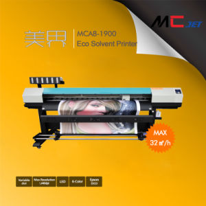 8FT Eco-Solvent Flatbed Plotter Printer Machine with Epson Dx10 pictures & photos