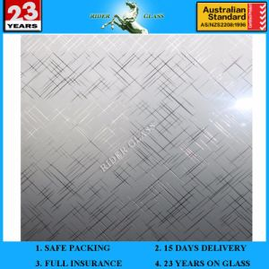 3-6mm Am-58 Decorative Acid Etched Frosted Art Architectural Mirror pictures & photos